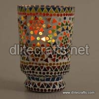 Glass Mosaic Votives