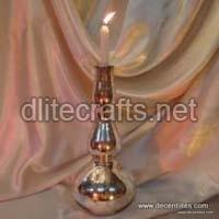 Glass Pillar Candle Sticks