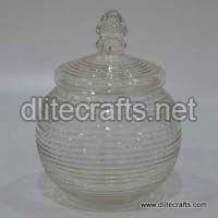 Clear Glass Votive ,Jar