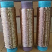 Jute Polyester Dope Dyed Yarns