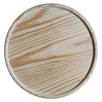 Pine Wood Pizza Plate