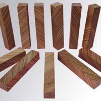 Zebra Wood Cross Cut Pen Blank