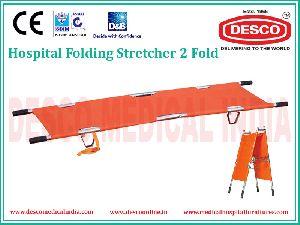 2 Fold Folding Stretcher