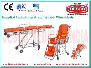 Wheelchair Cum Stretcherr