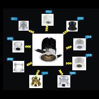 Downlight With Interchangeable Reflectors