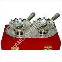 Silver Plated 2 Bowl Set