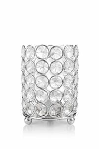 Crystal Beaded Votive Candle Holder