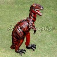 Handicraft Leather Dinosaur Sculpture