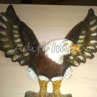 Handicraft Leather Eagle Sculpture