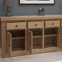 Wooden Large Sideboard