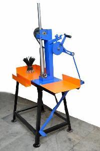 Pedal Type Incense Stick Making Machine