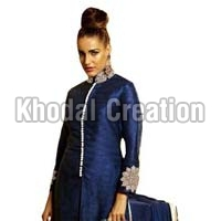 Sayali Blue Color Georgette  Straight Suit