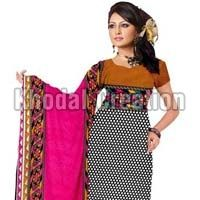 Wonderfull Pink And Black Colore Straight Suit Ladies