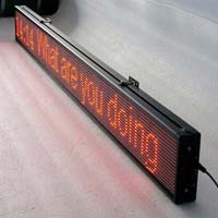 Electronic Moving Display System