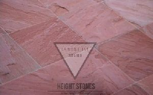 Agra Red Sandstone Tiles Slabs