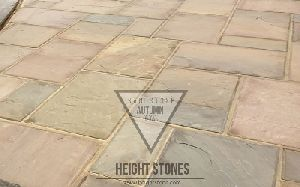 Autumn Brown Sandstone Tiles Slabs