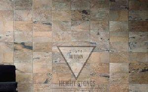 Autumn Rustic Slate Tiles Slabs