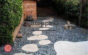 Beige Sandstone Stepping Stones