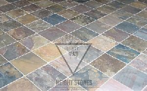 Multi Color Slate Tiles Slabs