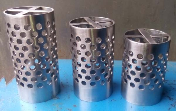 Stainless Steel Perforated Flasks