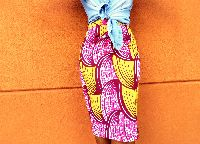 Pink Ohemaa Pencil Skirt