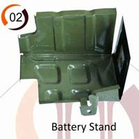 Tavera Car Battery Stand