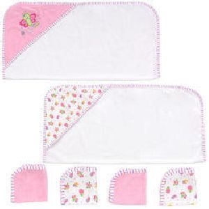 Baby Hooded Towel Set