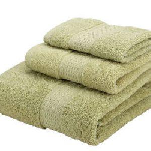 Green Face Towels