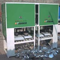 Fully Automatic Four Die Paper Plate Making Machine