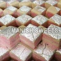 Strawberry Vanilla Burfi