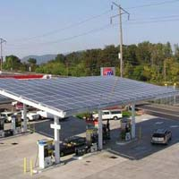 Solar Powered Petrol Pumps