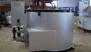 Aluminium Melting Cum Holding Oil Fire Furnace