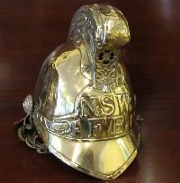 Brass Fireman Helmets
