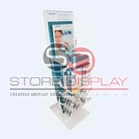Cosmetic Apparatus Cardboard Display Stand