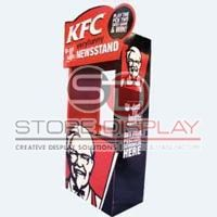 Fast Food Promotion Display Stand