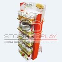 Food Double Side Display Stand