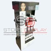 Skincare Product Quarter Pallet Display Stand