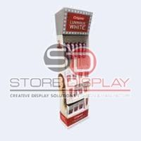 Toothbrush Floor Display Stand