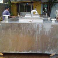 Stainless Steel Rectangular Fuel Tank