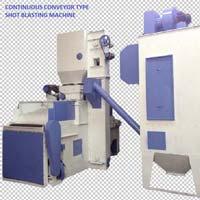 Continuous Conveyor Shot Blasting Machine