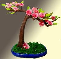 Artificial Clay Flowers