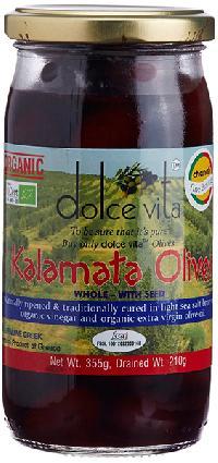 Organic Whole Kalamata Olives