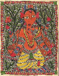 Tribal Madhubani Painting