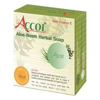 Accol Aloe-neem Herbal Soap