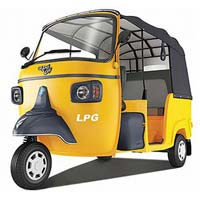 LPG Three Wheeler