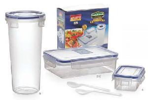 Lock & Fresh Lunch Box & Bottle Set