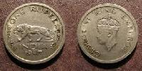 1947 One Rupee India Old Coin