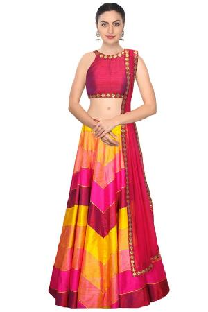 Party Wear Fish Cut Lehenga Manufacturers Suppliers