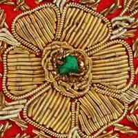 Zari Embroidery Work