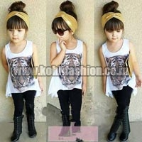 Girls Leggings & Top Set